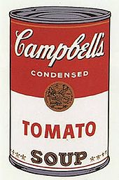 Andy Warhol Campbell's Soup I  (1968)